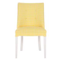 3A Mobilya Yellow World Sandalye - Sarı Beyaz