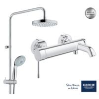 Grohe New Tempesta 200 Essence New Banyo Bataryalı Duş Sistemi