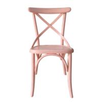Senora Özlem Antik Su Bazlı Thonet Sandalye - Turuncu