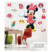Artikel Minnie-2 Dev Duvar Sticker