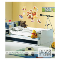 Artikel Disney Winnie&Pooh Duvar Stickerı Ds-023