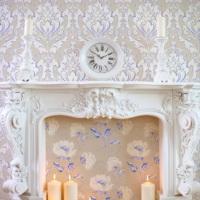 Mot Çiçekli Duvar Kağıdı 10-008502
