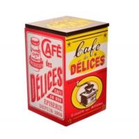 Decotown Cafe Delices Ahşap Saklama Kutusu