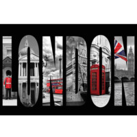 Innova London 40X60 Cm Cam Tablo