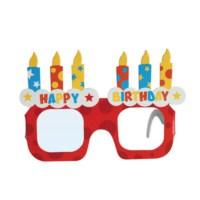 BuldumBuldum Karton Doğum Günü Gözlüğü 4Lü Paket
