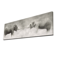 Mania Fil 30x90 cm Dekoratif Kanvas Tablo 52