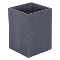 Uzun Saksı Granit Renk M 33x47 Cm