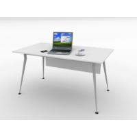 Kenyap 820947 Sera Metal Ayaklı Ofis Masası-140 cm-Beyaz-Tip 3