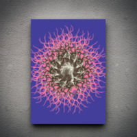 Zoodesignstudio Kanvas Tablo Geyik - 50X70