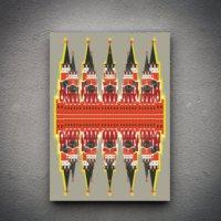 Zoodesignstudio Kanvas Tablo -24 - 100X150