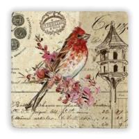 Oscar Stone Alıcı Kuşlar Iıı Taş Tablo