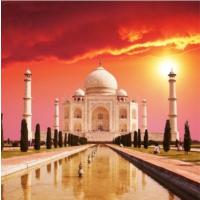 Pırıltı Vizyon Taj Mahal Tablo