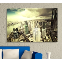 Artcanvas City - 1 Dekoratif Kanvas Tablo -50x70 cm