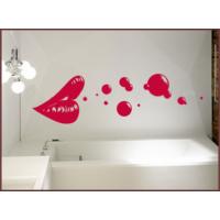 Dekorjinal Duvar Sticker Dudak Kırmızı- 2 - Cc50