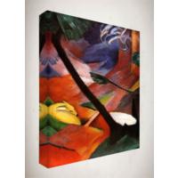 Kanvas Tablo - Soyut Modern Tablolar - Mts94