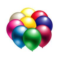 Metalik Renkli Balonlar - 100 Adet