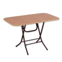 Okuyan Masa Sofra 70 cm x 120 cm Metal Katlanır Ayaklı Yemek Masası