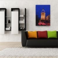 Deco Galata Kulesi ve Vosvos Led Işıklı Tablo