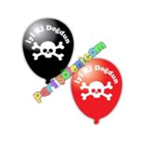 Parti Şöleni Korsan Balon 20 Adet
