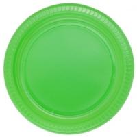 Parti Şöleni Yeşil Tabak 25 Adet
