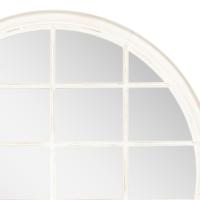 Yuvarlak Ayna Beyaz 120X120 Cm
