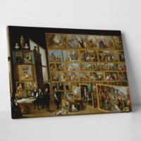 Paşa Home Bir Ressamın Galerisi Kanvas Tablo