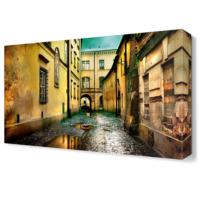 Dekor Sevgisi Şehir Arası Tablosu 45x30 cm
