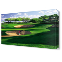 Dekor Sevgisi Golf Sahası Canvas Tablo 45x30 cm