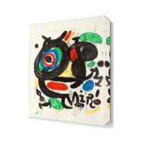 Dekor Sevgisi Joan Miro5 Canvas Tablo 45x30 cm