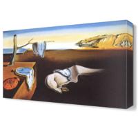 Dekor Sevgisi Salvador Dali Zaman Saatler Tablo 45x30 cm