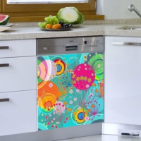 Decor Desing Beyaz Eşya Sticker Bev23