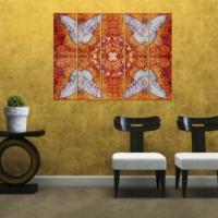 Decor Desing 5 Parçalı Dekoratif Tablo Vsrm001