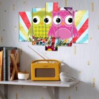 Decor Desing 5 Parçalı Dekoratif Tablo Y5Tp086