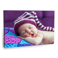 Fotografyabaskı Uyuyan Şirin Bebek Tablo 75 Cm X 50 Cm Kanvas Tablo Baskı