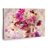 Fotografyabaskı Vazoda Buket Çiçekler Tablo 75 Cm X 50 Cm Kanvas Tablo Baskı