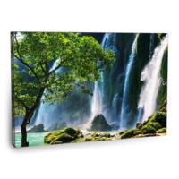 Fotografyabaskı Şelale Vietnam Tablo 75 Cm X 50 Cm Kanvas Tablo Baskı