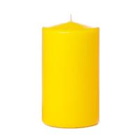 Tvshopmarket Sarı Kütük Mum ( 8 X 12 )