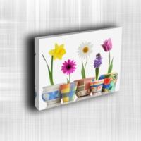 Doku Canvas Baskı Çiçek- CIGE683