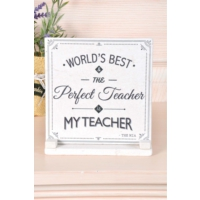 The Mia Plaket Mermer - Teacher