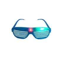 Partistok Işıklı Panjur Parti Gözlüğü Mavi
