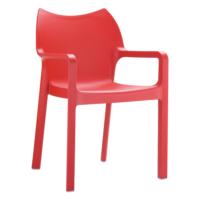Siesta Contract Diva Sandalye - Kırmızı