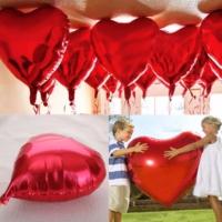 Chavin Kırmızı Kalp Aşk 45 Cm. Folyo Balon Cin56