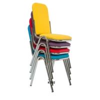 Gül Masa Sandalye Mutfak Yemek Sandalyesi Karizma 4 Adet Gökkuşağı Renkleri Şık