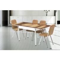 Gül Masa Mutfak Cam Masa Sandalye Takımı Yandan Açılır Uzamalı Cam Masa +4 Adet Karizma Sandalye Kaliteli