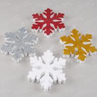 Kikajoy Renkli Kar Taneleri Strafor Yılbaşı Dekor Süs