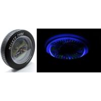 Modacar Lastik Görünüm Işıklı Duvar Saati 103997