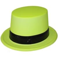 Pandoli Sarı Fosforlu Siyah Kemerli Şapka