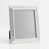 Evstil Brezy Ayna Eskitme Gri - Beyaz