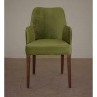 Hira Demonte Düz Ceviz Ayak Kollu Sandalye