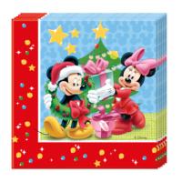 KullanAtMarket Mickey Yılbaşı Kağıt Peçete 33X33Cm